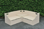 Leave Me Outdoors Outdoor Corner Seat